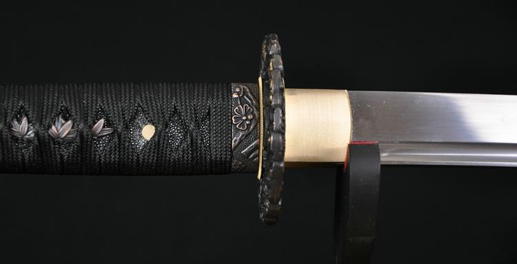 1060 High Carbon Steel Japanese Samurai Battle Ready Dragon Sword