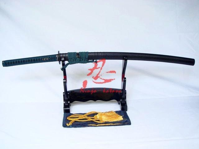 Claying Tempered Battle Ready Katana Shobu Zukuri Kissaki Blade