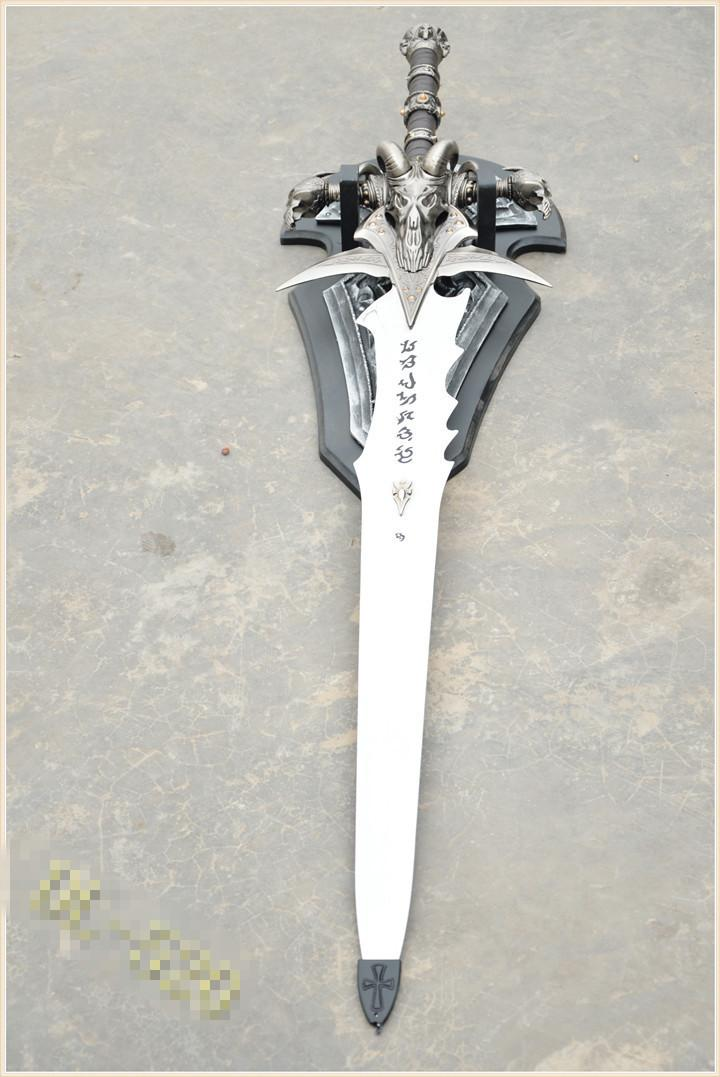 Copy World Of Warcraft Frostmourne Sword Knife 1:1 Replica Craft,Christmas Birthday Valentine'Gift