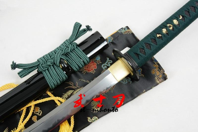 51.2 Clay Temepred Japanese Nodachi Katana Class Polished Work Full Tang Blade Razor Sharp