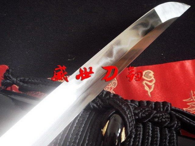 Clay Tempered Folded Steel Blade Japanese High Carbon Steel Musashi Fitings Katana Sword