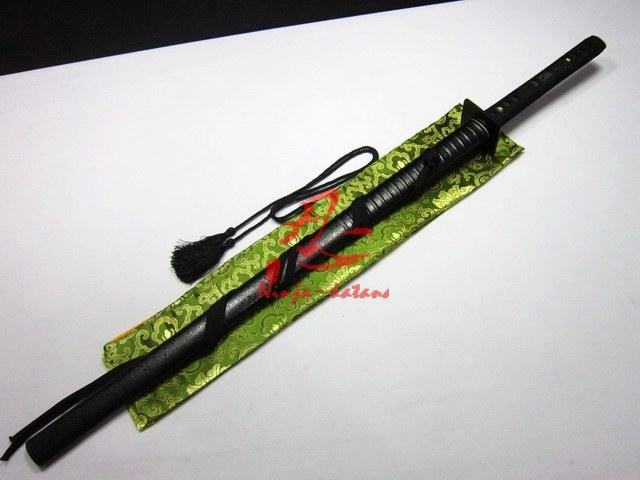 Battle Ready Clay Tempered Japanese Ninja Sword Sanmai Blade Razor Sharp