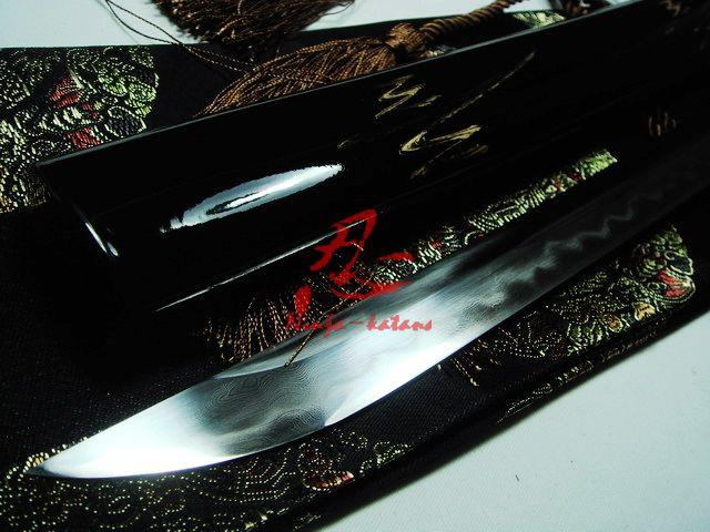 Battle Ready Clay Tempered Japanese Samurai Katana Unokubi-Zukuri Blade Sharpened