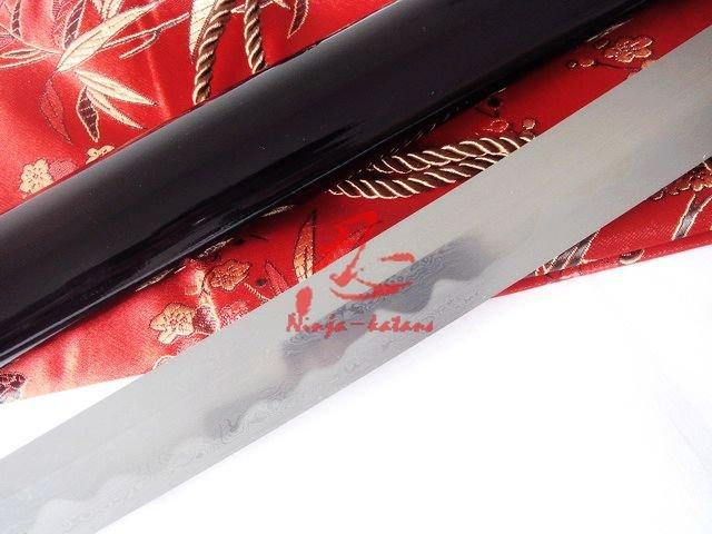 Hand Forged Forged Japanese Wakizashi Katana Dragon Tsuba Sword Very Sharp Blade