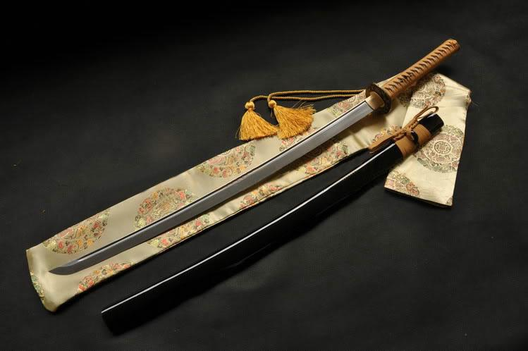 41 Inch Hand Forged Japanese Samurai Sword Katana Folded Steel Full Tang Blade